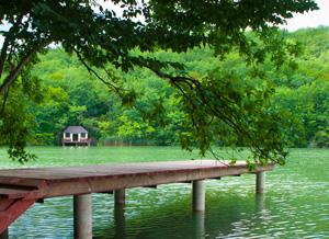 Великолепное место для рыбалки и активного отдыха на воде.