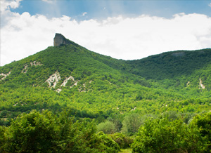 Щедрый полуостров продолжает дарить нам практически итальянские пейзажи.