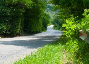 Дорога извилистая, но безопасная.